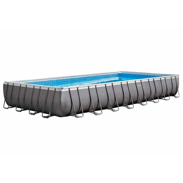 Intex Ultra Metal Frame Swimming Pool (Rectangle) - 9.75 x 4.88 mtr - AGP