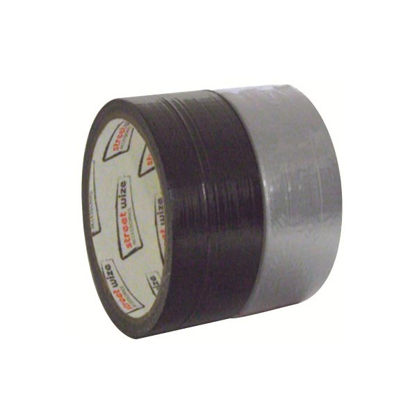 Streetwize Gaffa Tape/Duct Tape in Black -50mmx10m length