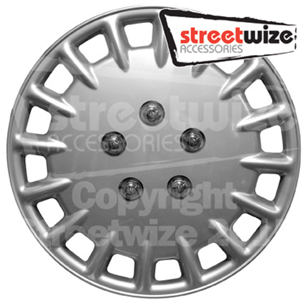 "Streetwize 13"" Tornado Premium Boxed Wheel Cover Set"