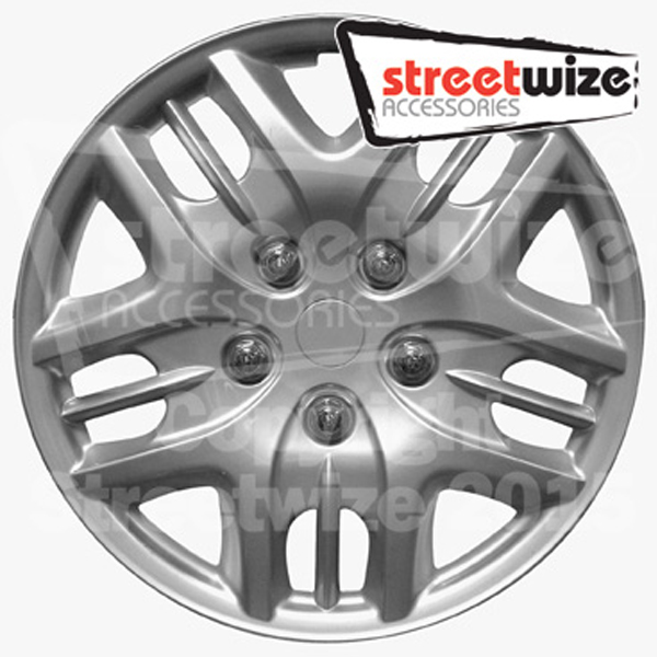 "Streetwize 13"" Phantom  Premium Boxed Wheel Cover Set"