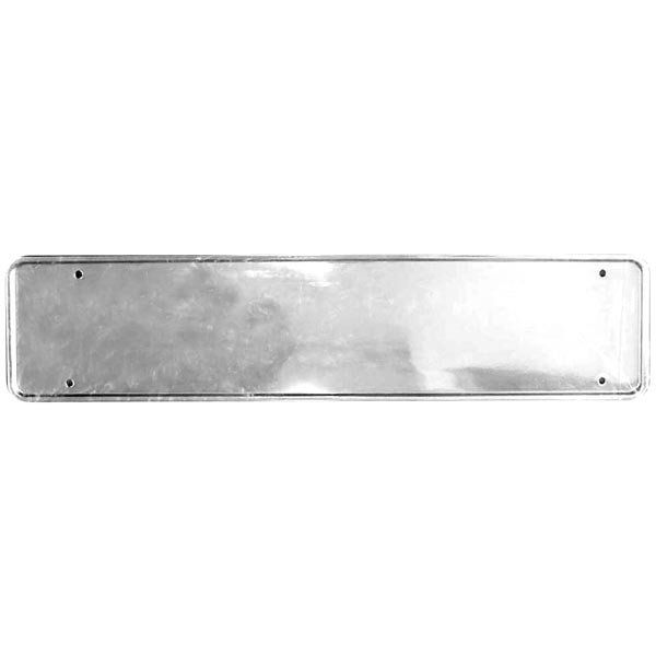 Streetwize Universal Chrome ABS Number Plate Surround