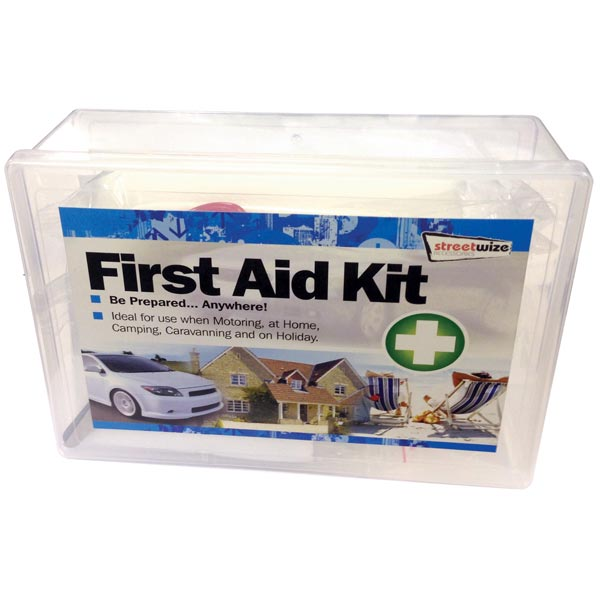 Streetwize Deluxe 40pce First Aid Kit