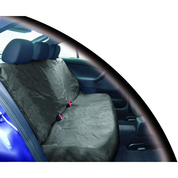 Streetwize Heavy Duty Waterproof Single Rear Seat Protector in Grey