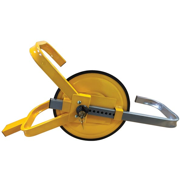 Streetwize Wheel Clamps - Full Face - Yellow