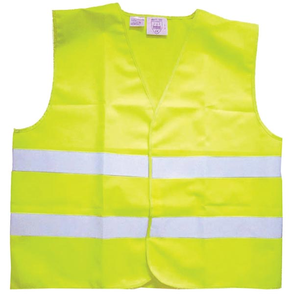 Streetwize Hi Viz Jacket Yellow Adult Yellow