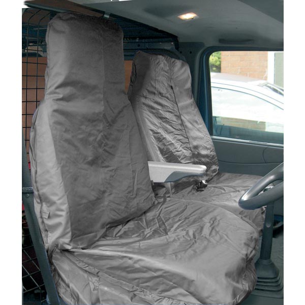 Streetwize Heavy Duty Waterproof Van  Seat protector - Grey [Single Seat + Twin Cab Seat]