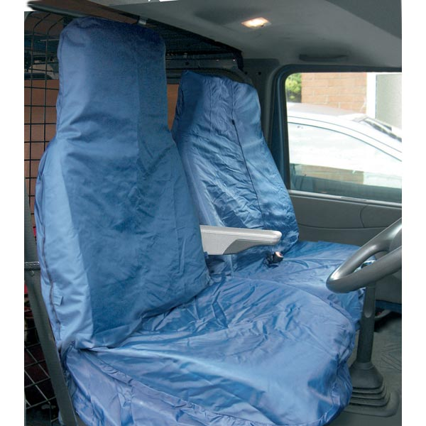 Streetwize Heavy Duty Waterproof Van Seat protector - Blue [Single Seat + Twin Cab Seat]