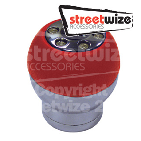 Streetwize Red  Gear Knob