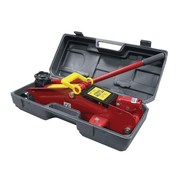 Streetwize 2 Tonne Trolley Jacks (GS Tuv)  in Blow Moulded Case