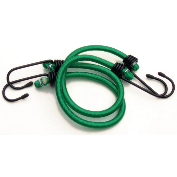 "Streetwize Pair 18"" Luggage Elastics (GS  & Tuv) - Green"