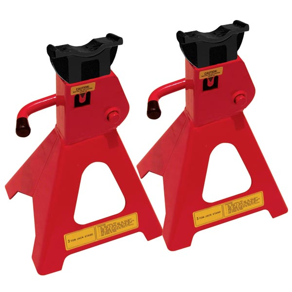 Streetwize 3 Tonne USA Style Axle Stand Sets (GS Tuv)
