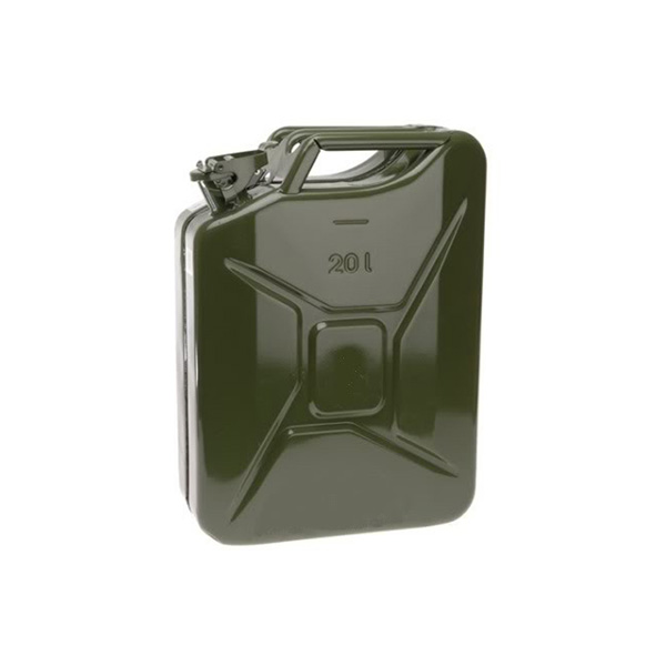 20 Litre Metal Jerry Can Approved Green