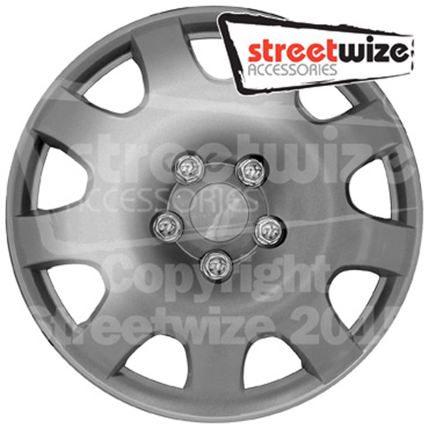 "Streetwize 13"" Thunder Premium Boxed Wheel Cover Set"