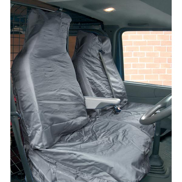 Streetwize Water Resistant Van [Single Seat + Twin Cab Seat] Seat Protectors in Grey