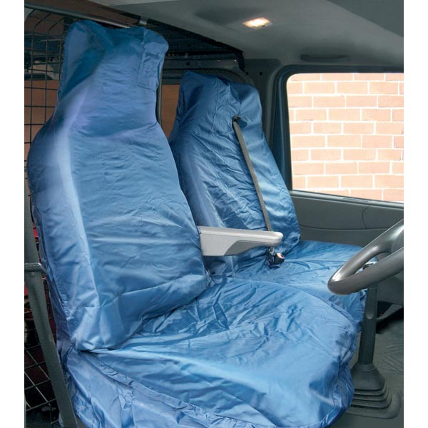 Streetwize Water Resistant Van [Single Seat + Twin Cab Seat] Seat Protectors in Navy