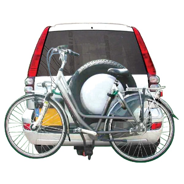 Streetwize 2 Bicycle Carrier -Towball Fitting With Number Plate