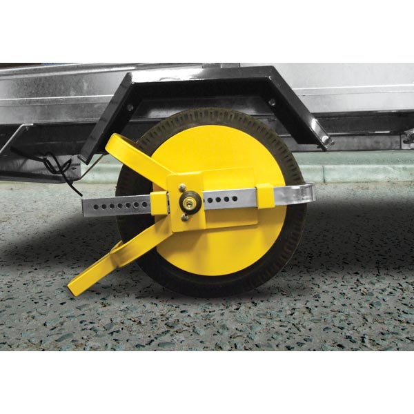 "Streetwize Full Face Wheel Clamp -8""-10"" For Trailers"