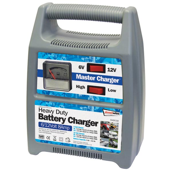 streetwize battery charger instructions