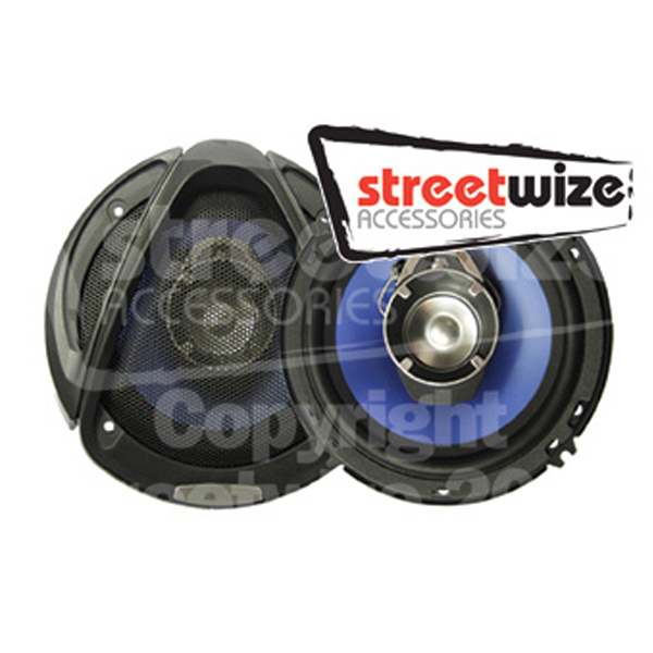 "Streetwize Pr 6.5"" 3 Way 10oz Magnet Speakers"