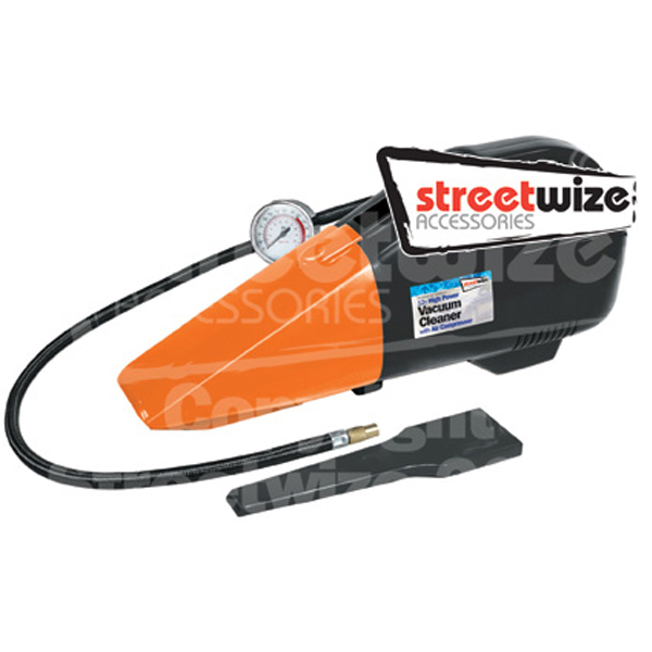 Streetwize 2 in 1 Car Vacuum Cleaner