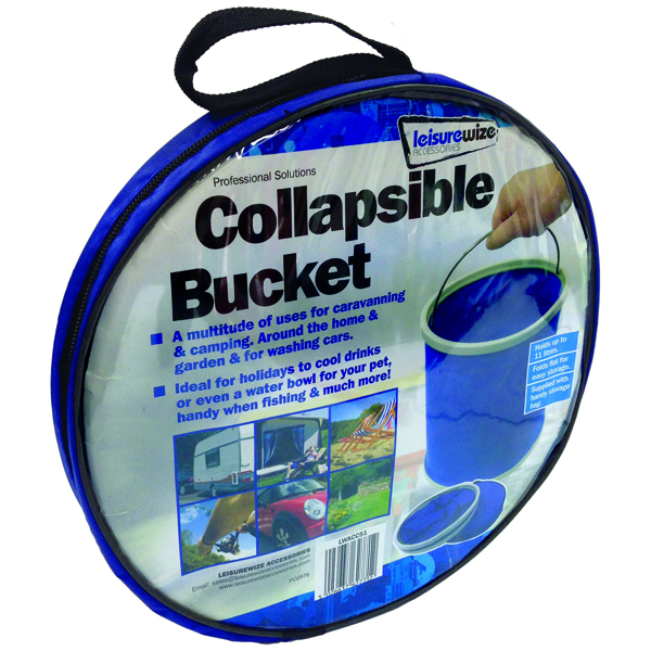 Streetwize 11L Collapsible Bucket