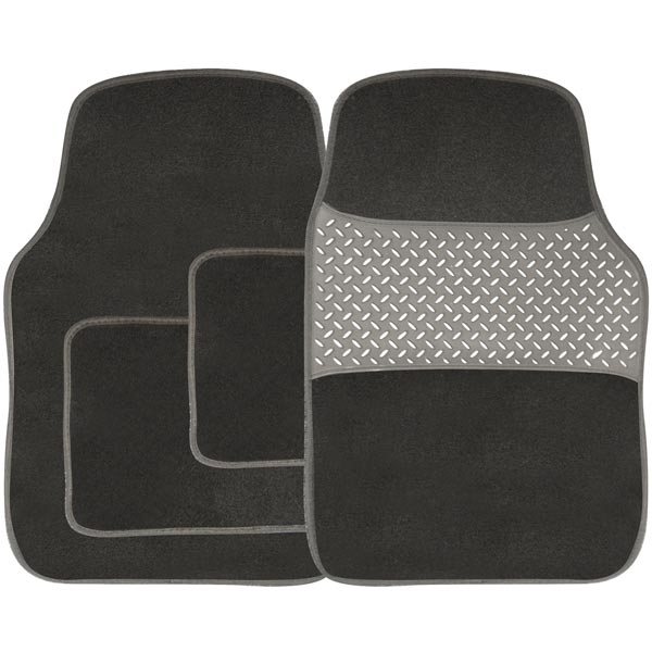 Streetwize 4 piece Carpet Mat Set