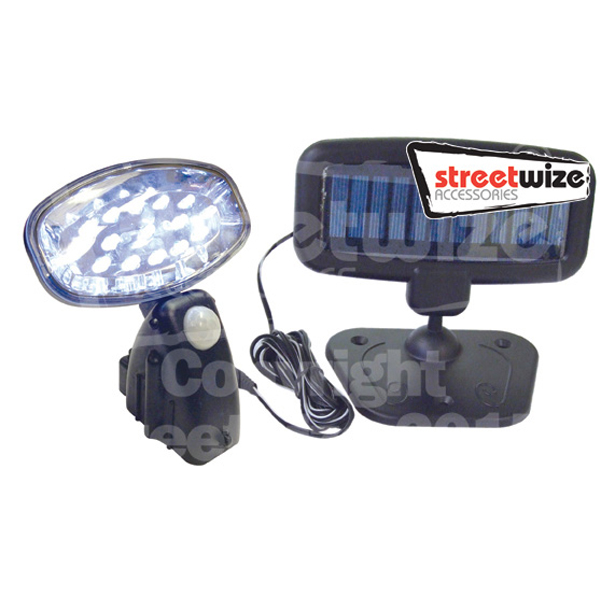 Streetwize 15 LED Solar PIR Light