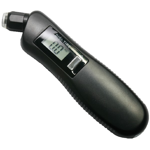 Streetwize Digital Tyre Pressure Gauge - With Light