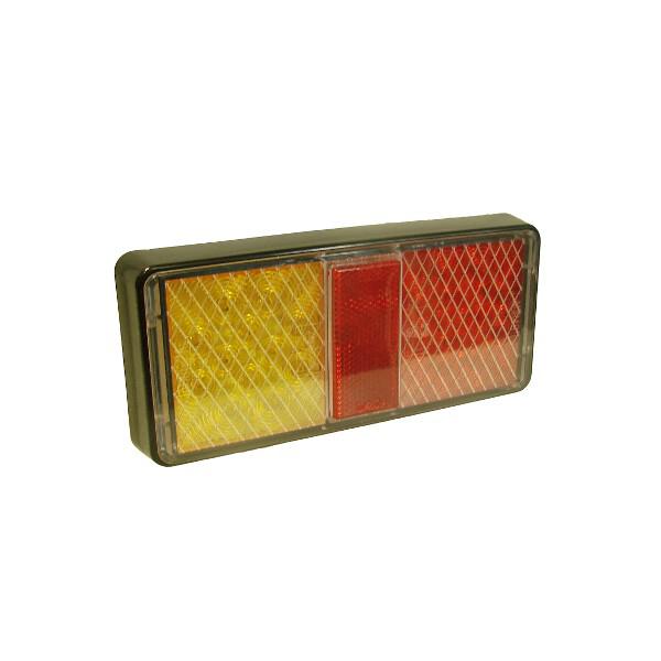 Maypole LAMP - LED 10-30V REAR COMBI Stop/Tail/Indicator BK
