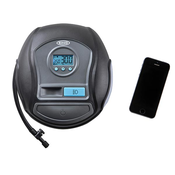 Ring App Controlled Smart Tyre Inflator