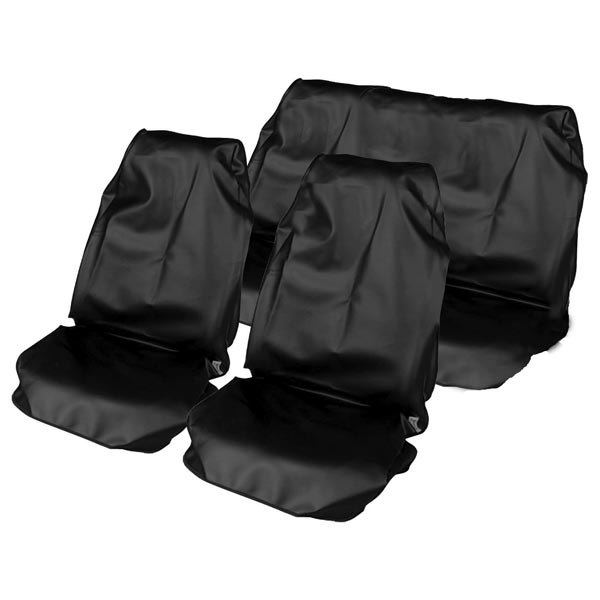 Streetwize Full Set Waterproof S/Covers Black