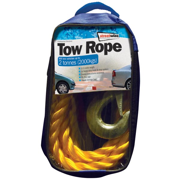 Streetwize 2 Tonne Tow Rope