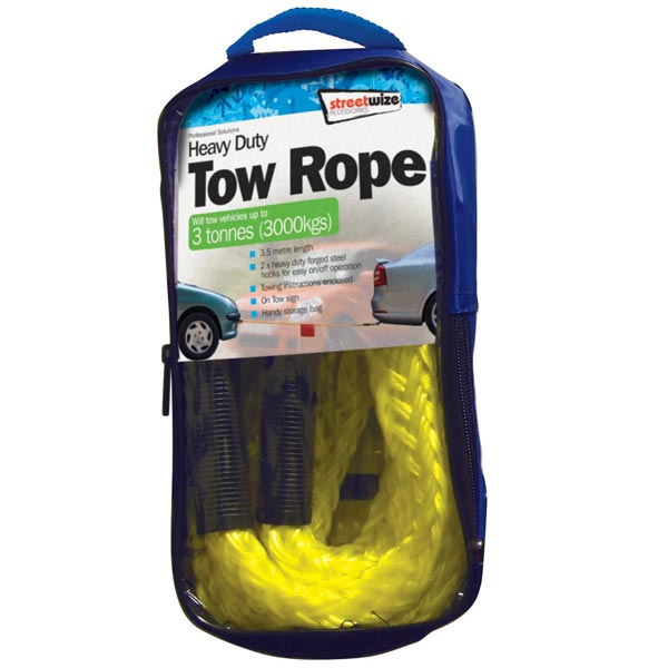 Streetwize 3 Tonne Tow Rope