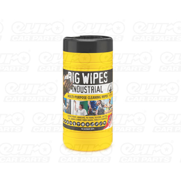 Industrial 80s - Anti Bacterial, 80 wipes tubs
