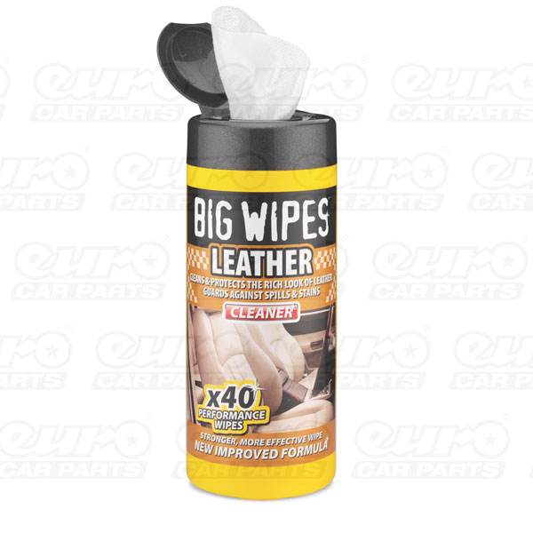 Leather Wipes 40s tubs