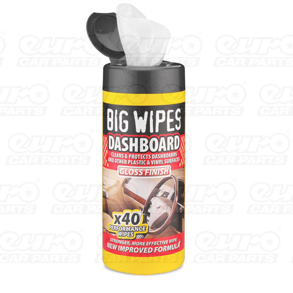 Protectant Gloss Wipes 40s tubs