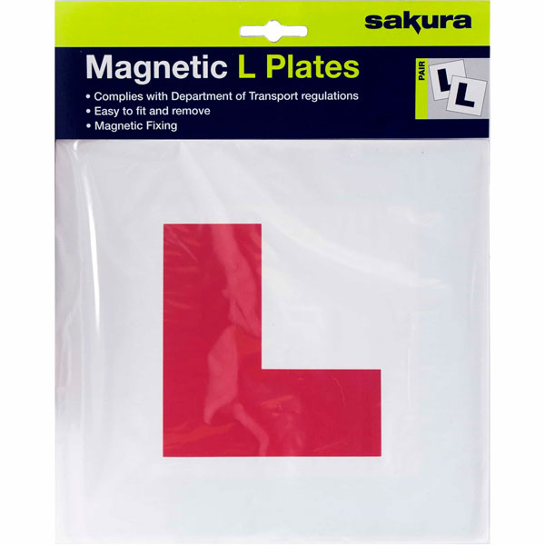 Sakura L Plates with magnetic strip