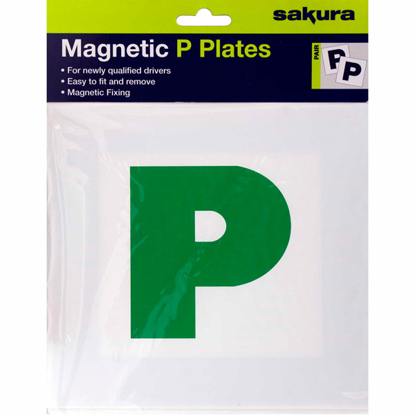 Sakura P Plates with magnetic strip