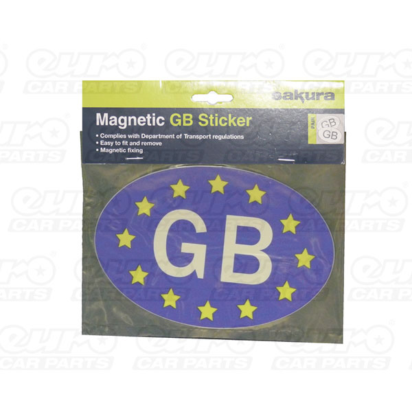 Sakura GB EU Sticker Fully Magnetic