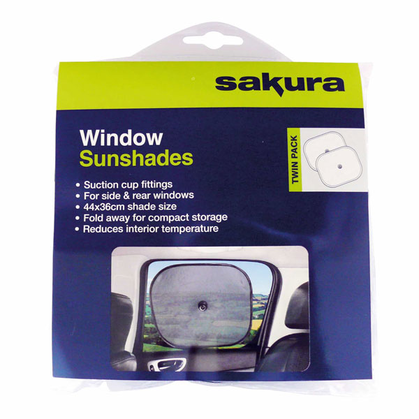 Sakura Window Shades - pair