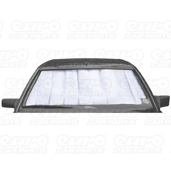 Sakura Windscreen Reflective Shade, Silver