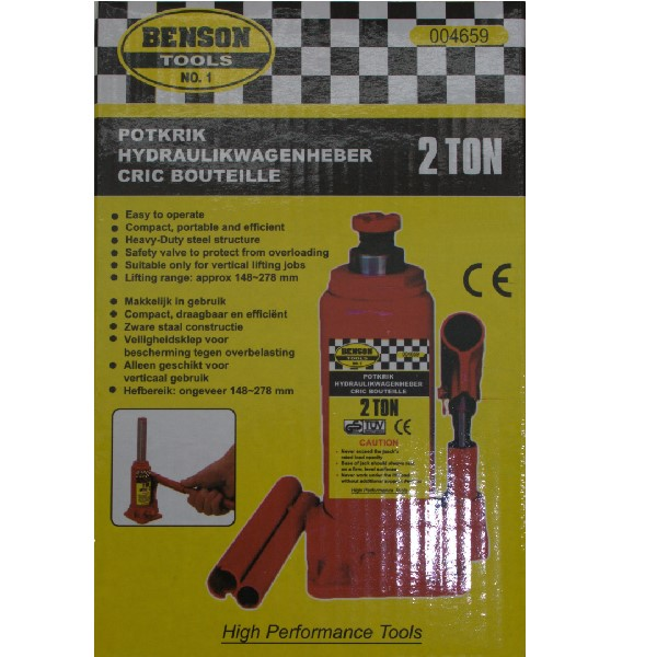 Benson Bottle Jack - 2tonne