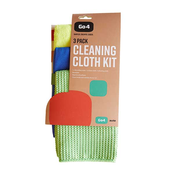 Go4 Auto Cleaning Cloth Kit