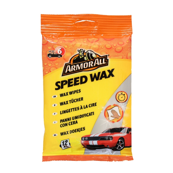 Armorall Speed Wax Wipes