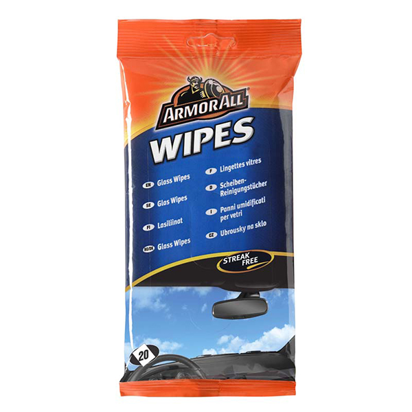 Armorall Armor All Glass Wipes - Flow Pack