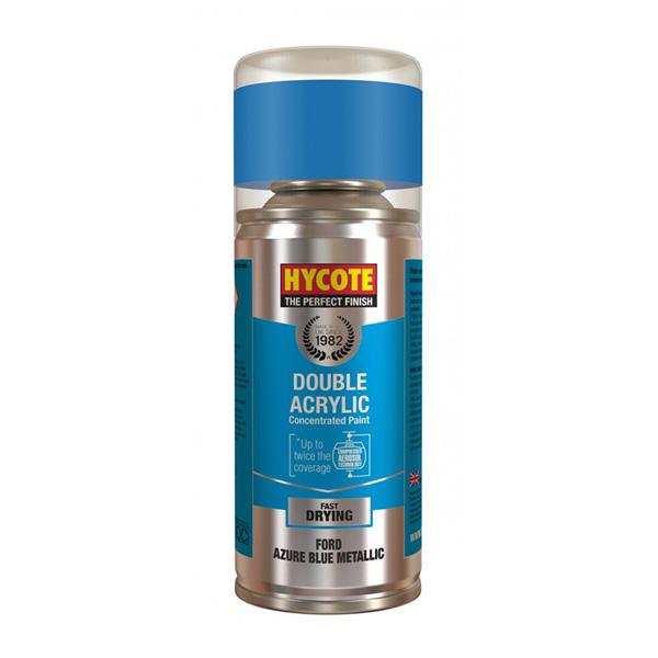 Hycote Ford Azure Blue Metallic Spray Paint - 150ml