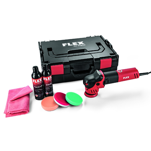 Free Spinning Roto Random Orbit Polisher Set for Small Areas  XFE 7-12 80 P-Set