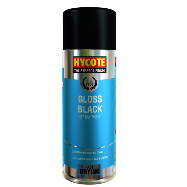 Hycote Gloss Black 400ml
