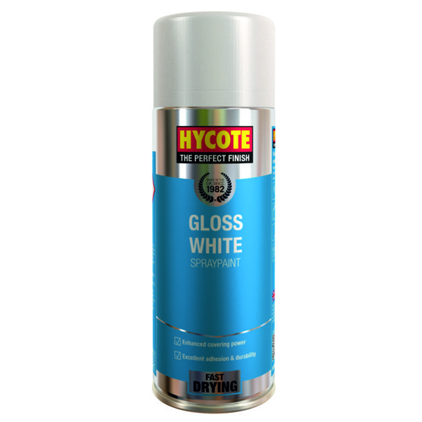 Hycote Gloss White 400ml