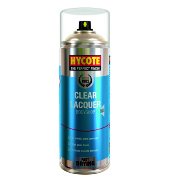 Hycote Clear Lacquer Body Shop 400ml